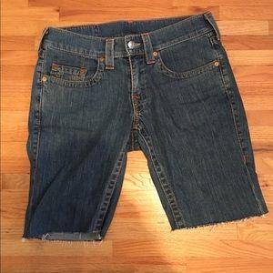 Men's True Religion Jean Shorts